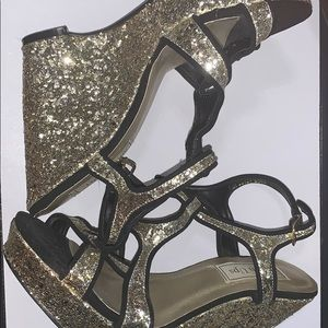 Women's Sparkly Wedges